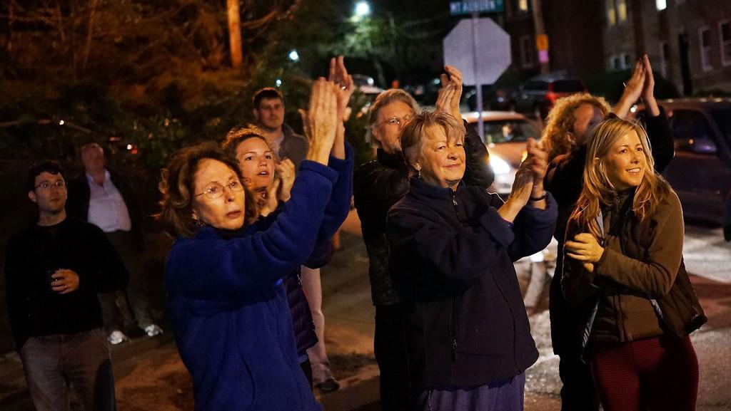 V ulicích propukly oslavy dopadení druhého pachatele útoku při Bostonském maratonu