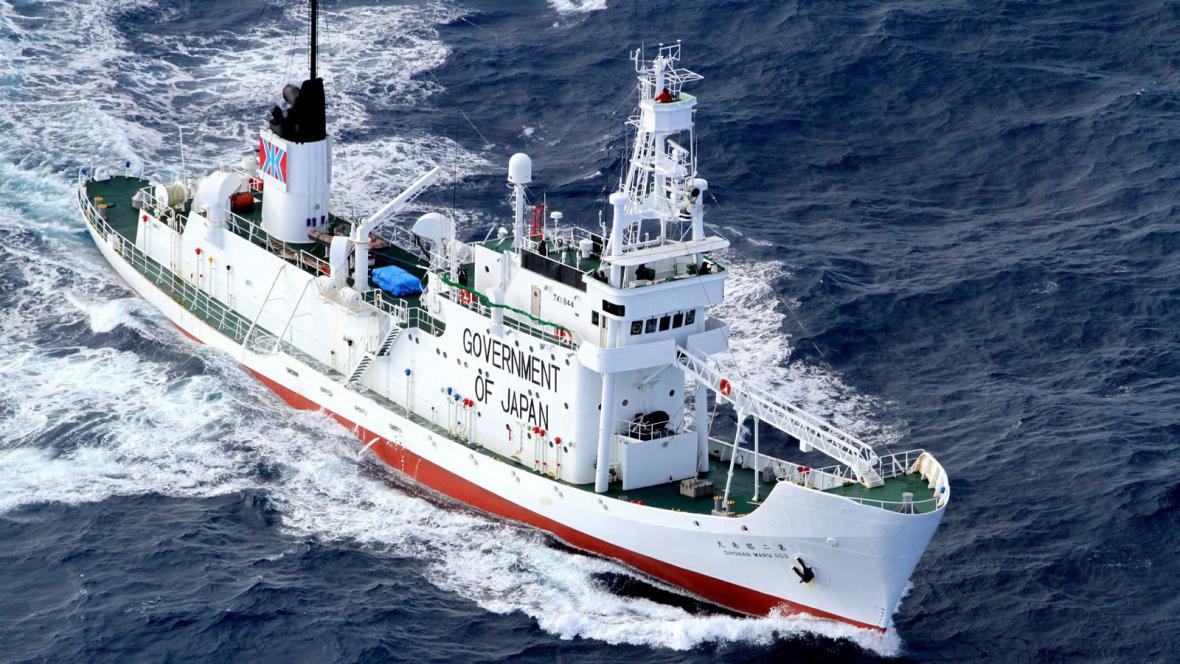 Japonští lovci velryb