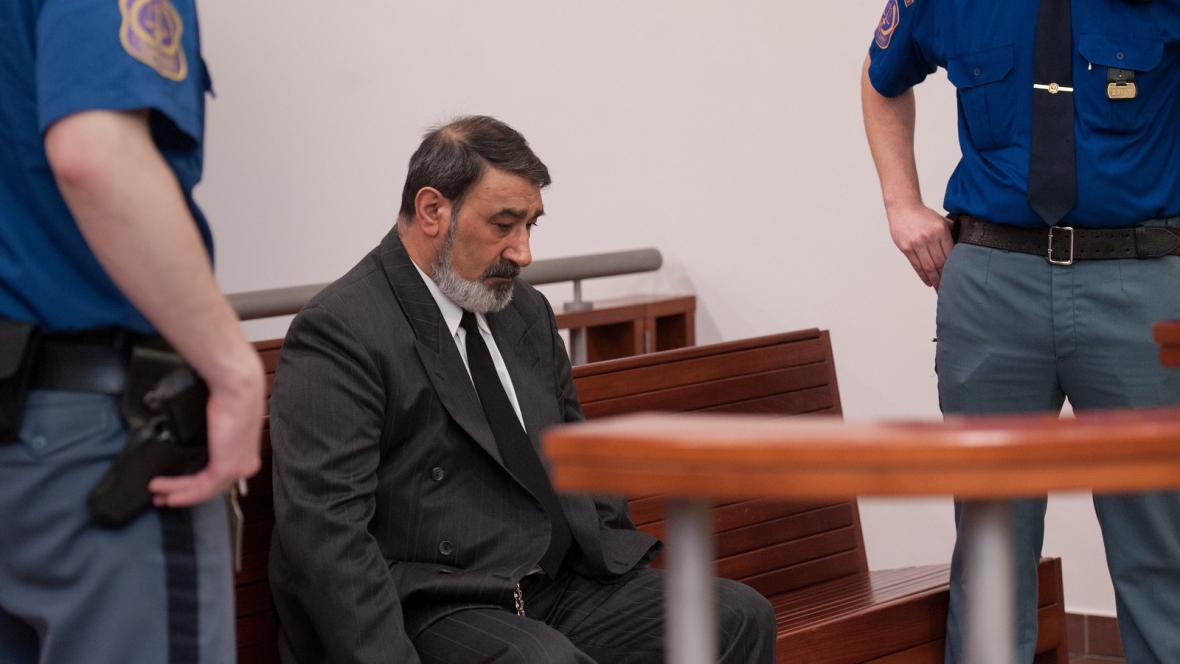Odsouzený Milan Torák u soudu