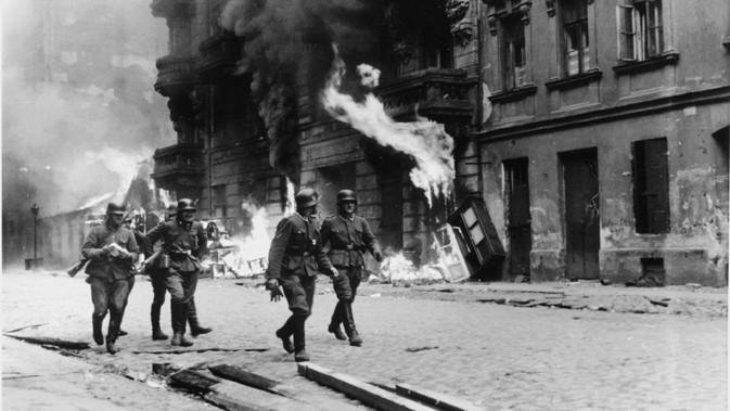 Nacistické jednotky ve varšavském ghettu