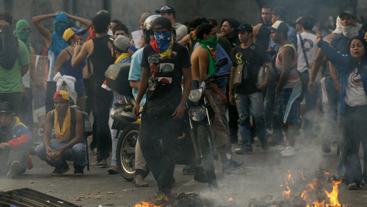 Povolební nepokoje ve Venezuele
