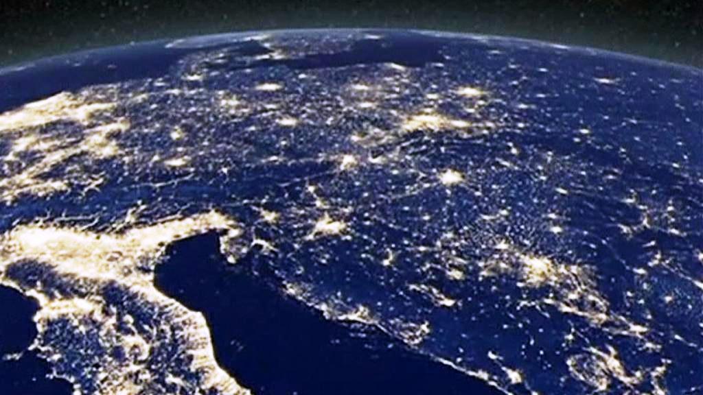 Noční planeta Země