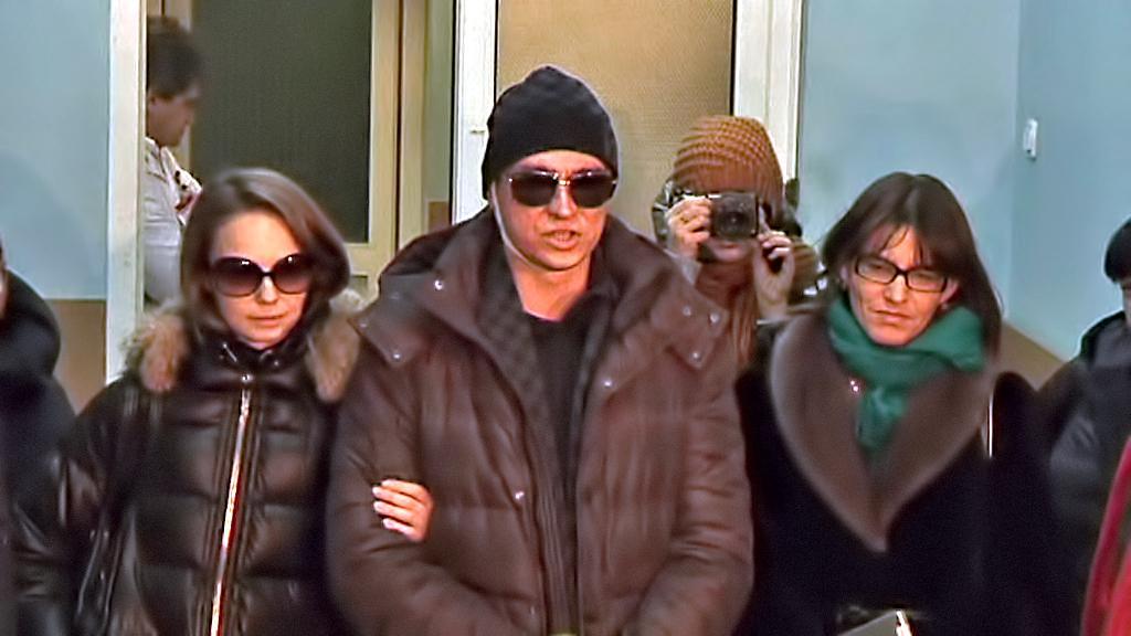 Sergej Filin po odchodu z moskevské kliniky