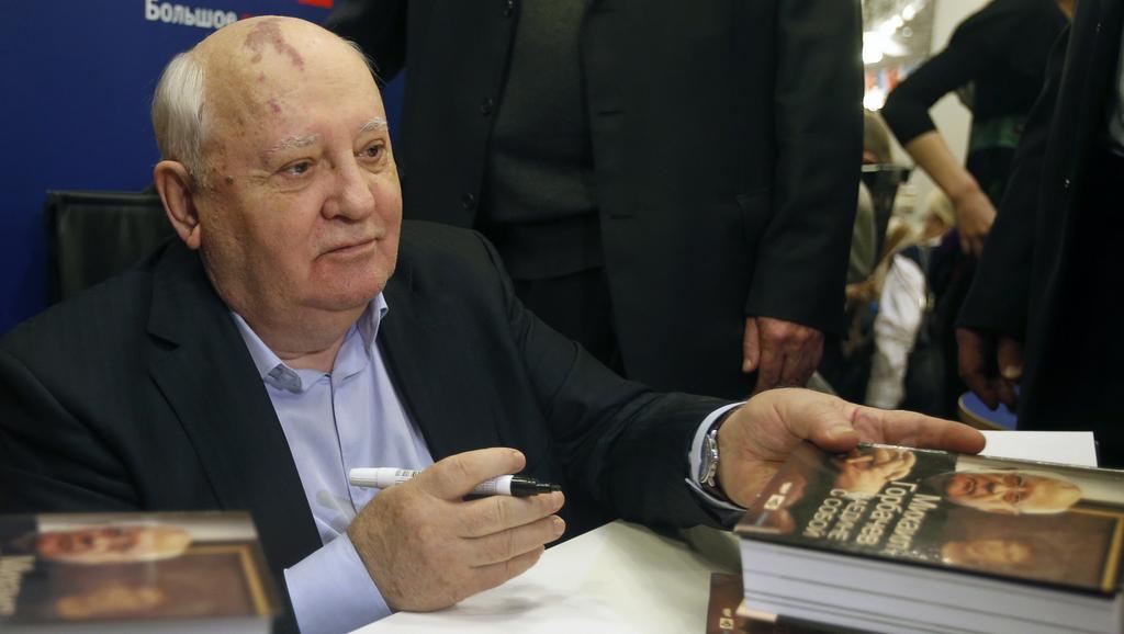Michail Gorbačov představil novou knihu