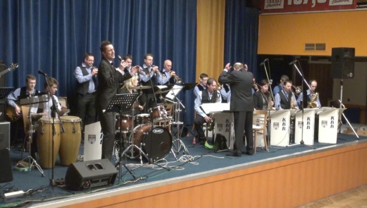 Kolínský big band s Ondřejem Rumlem