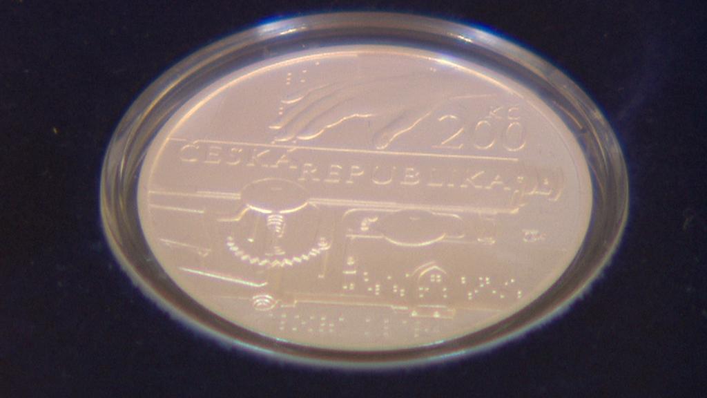 Stříbrná pamětní mince