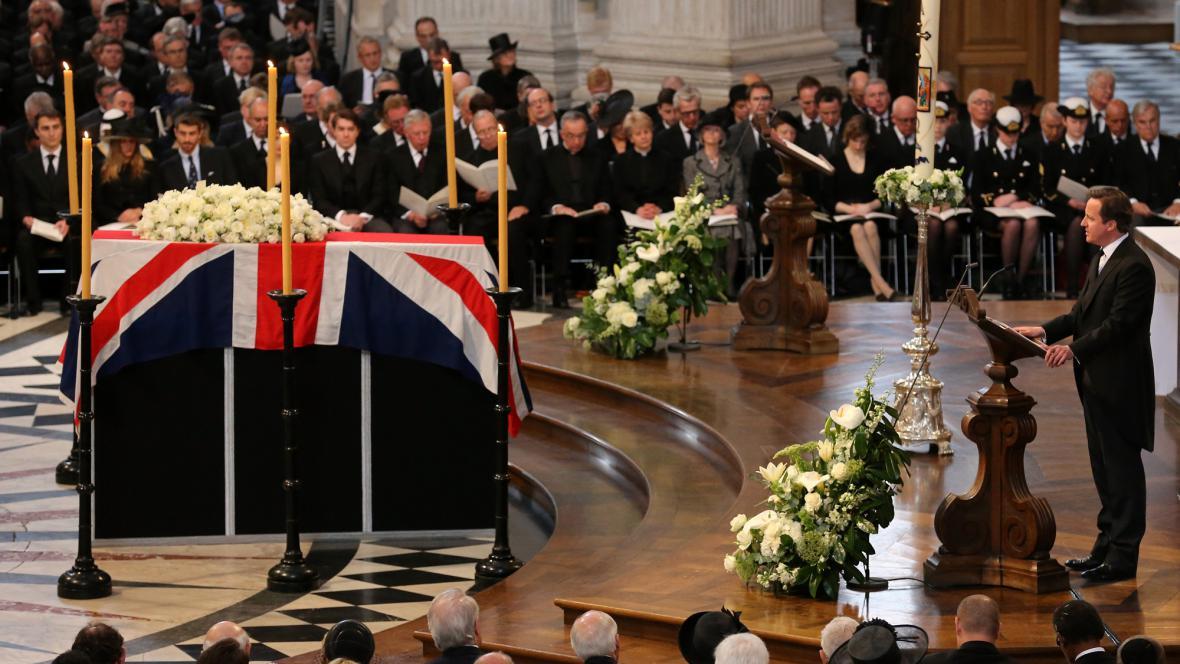 Pohřeb Margaret Thatcherové
