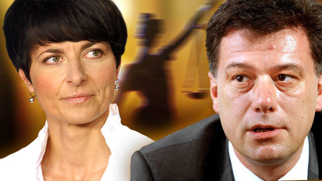 Lenka Bradáčová a Pavel Blažek