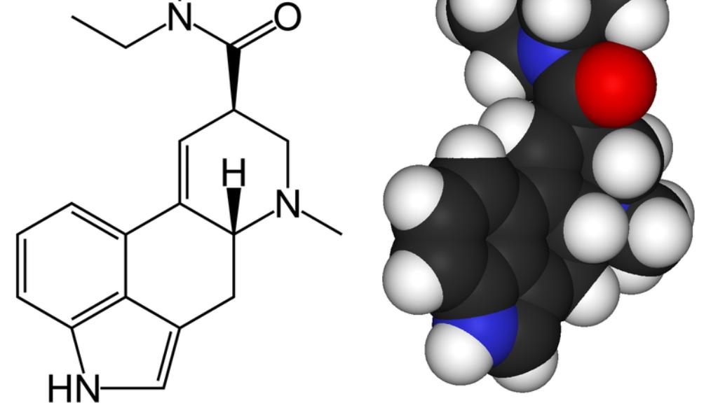 Diethylamid kyseliny lysergové (LSD)
