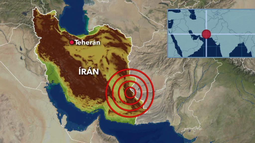 Zemětřesení v Íránu