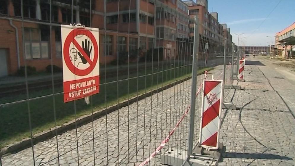 Přístup k budovám je zakázaný