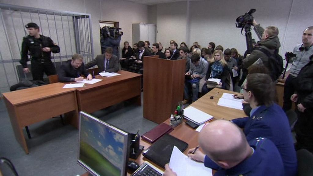 Soud v kauze Sergeje Magnitského