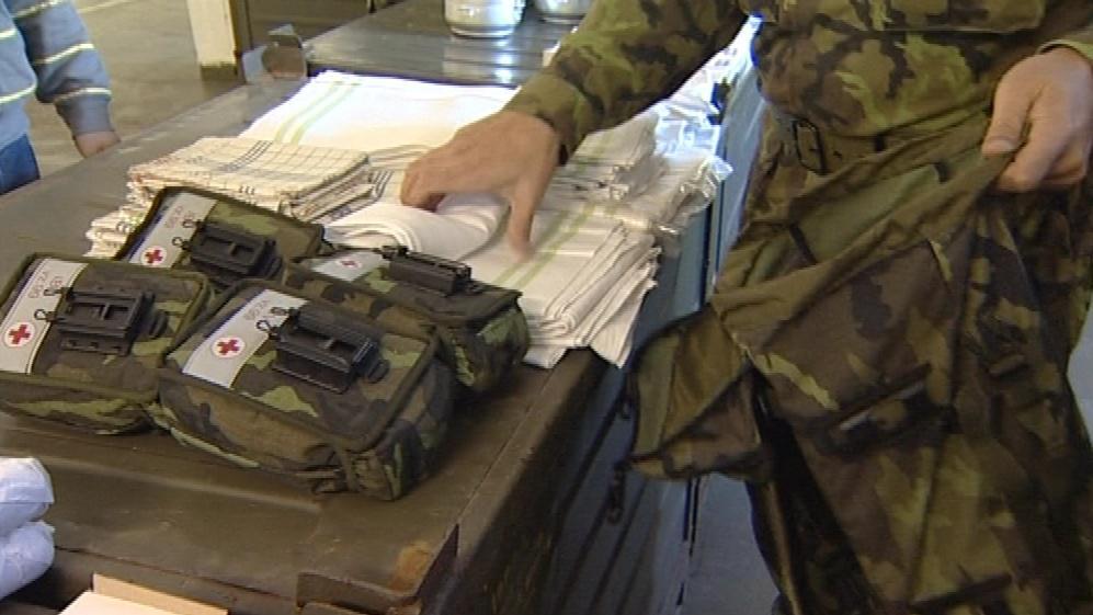 Vojenské lékárničky byly součástí tendru za 15 milionů korun