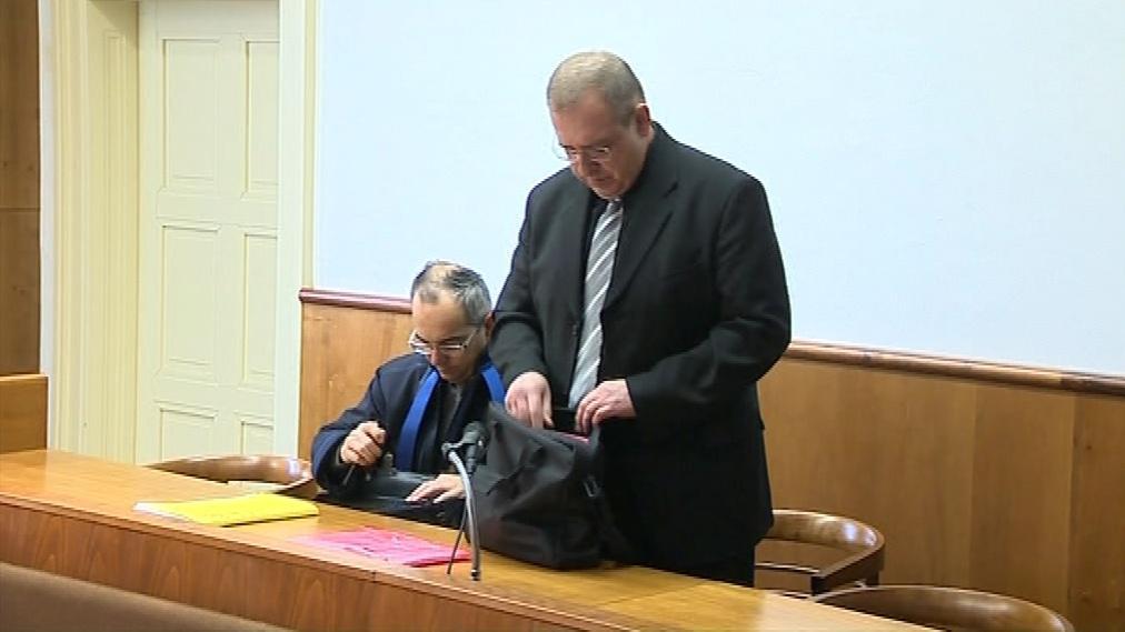Bývalý velitel základny Jiří Plášek u soudu