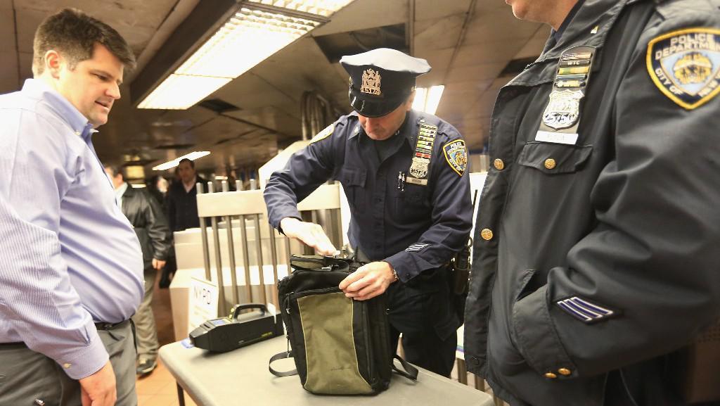 Bezpečnostní opatření na newyorkském centrálním terminálu