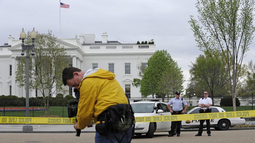 Bezpečnostní opatření v okolí Bílého domu