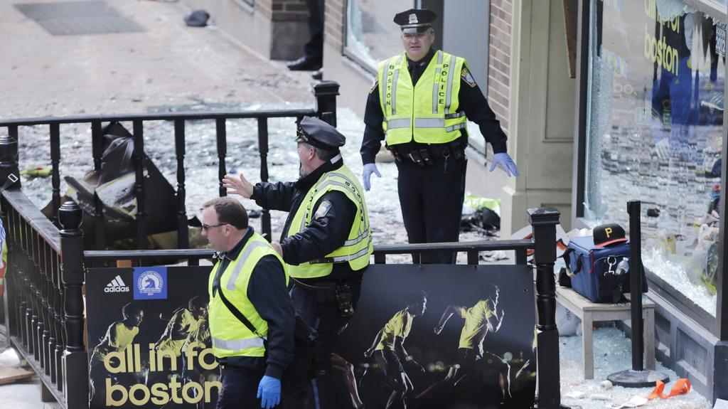 Zásah policie po zaznění výbuchu