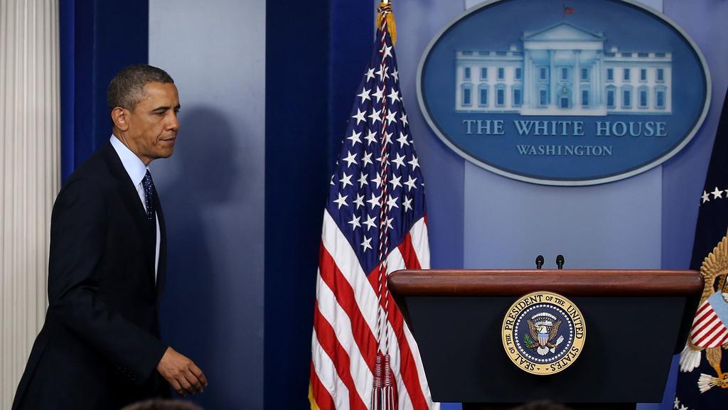 Barack Obama přichází s projevem k bostonským výbuchům