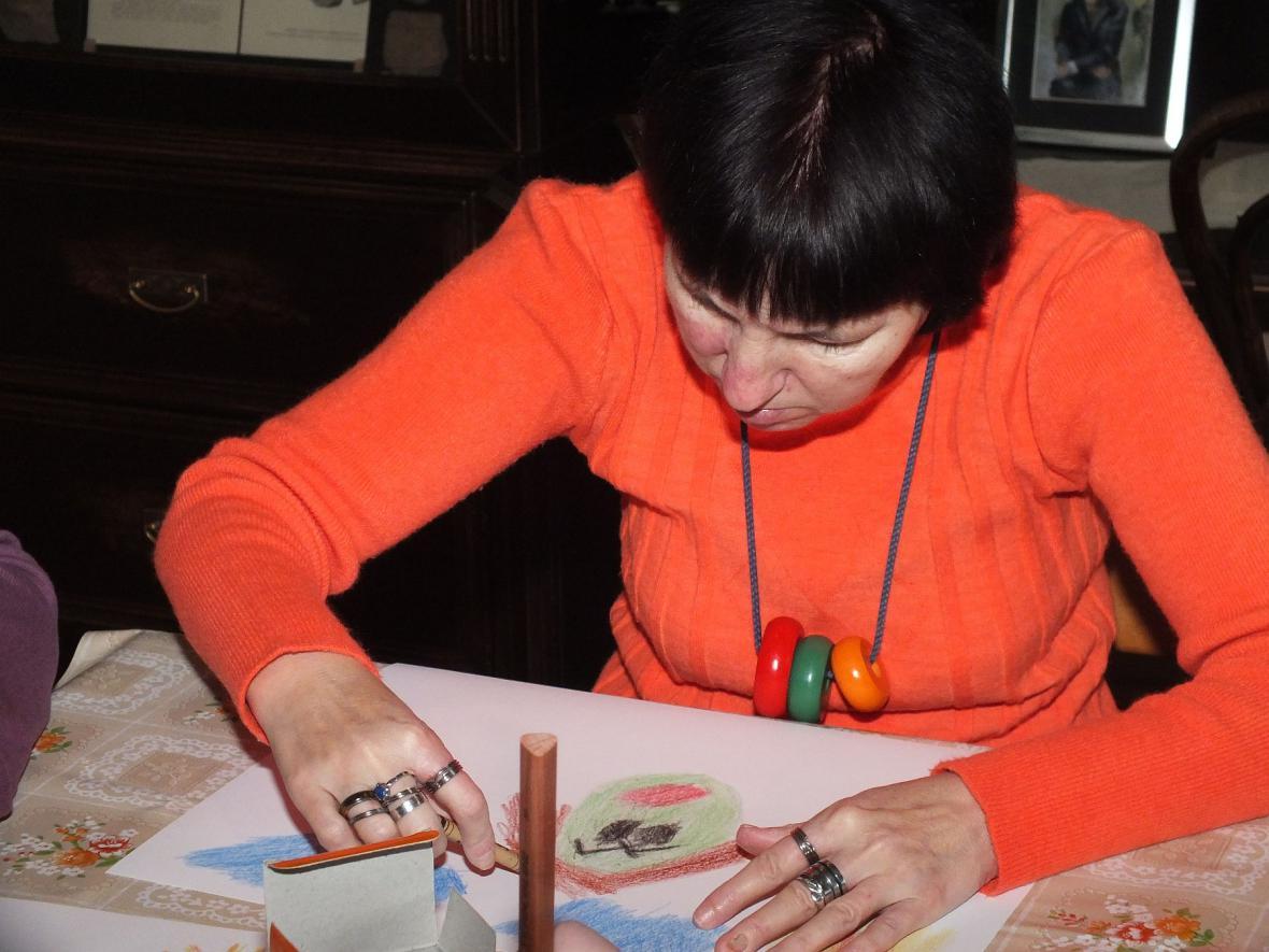 Výtvarná dílna handicapovaných umělců