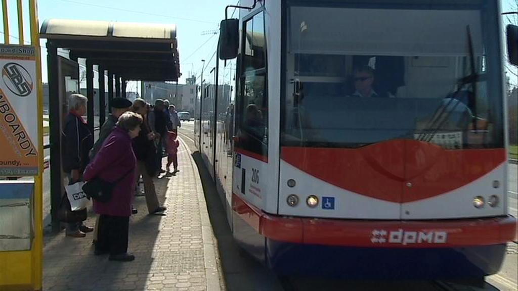 Tramvaj v Olomouci