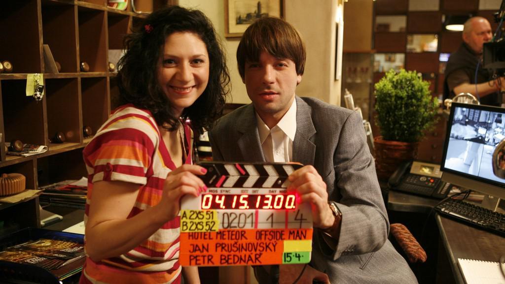 První klapka seriálu Čtvrtá hvězda