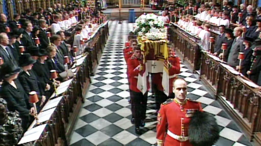 Pohřeb princezny Diany