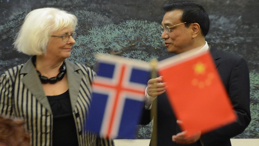 Čínsko-islandská dohoda o volném obchodu