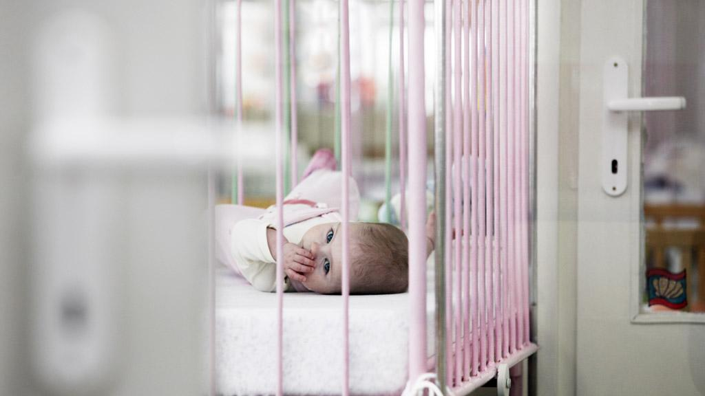 Děti v kojeneckém ústavu
