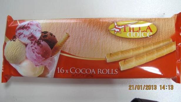 Nebezpečné sušenky STILLA dolce