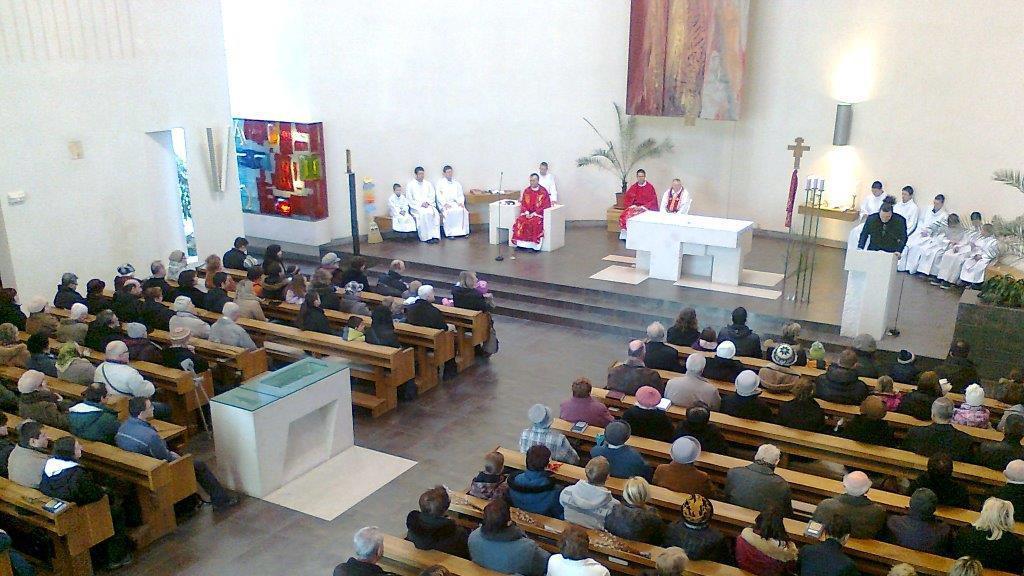 Kostel Svatého Ducha v Ostravě-Zábřehu