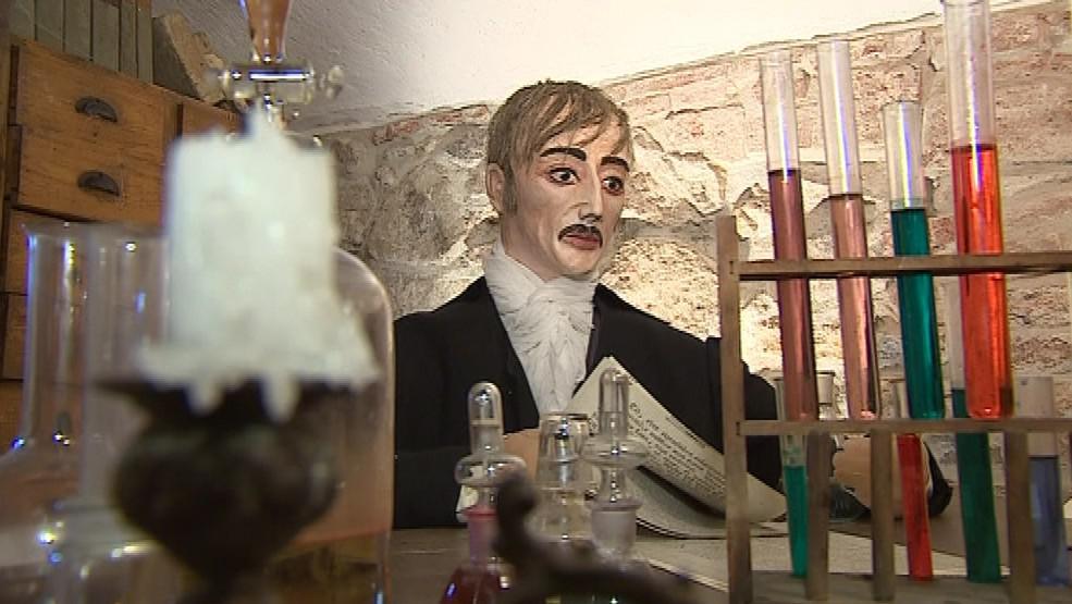 Expozice věnovaná baronu Reichenbachovi
