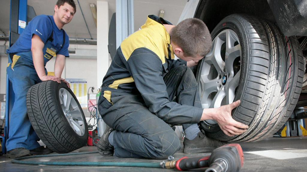 Výměna pneumatik