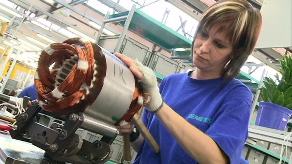 Nová výrobní linka v Siemensu