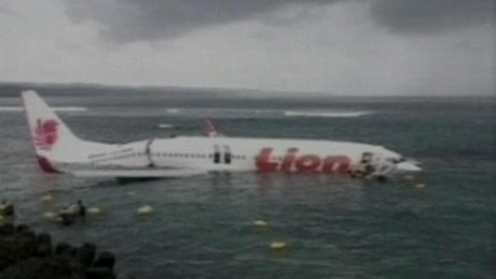 Nehoda letadla na Bali