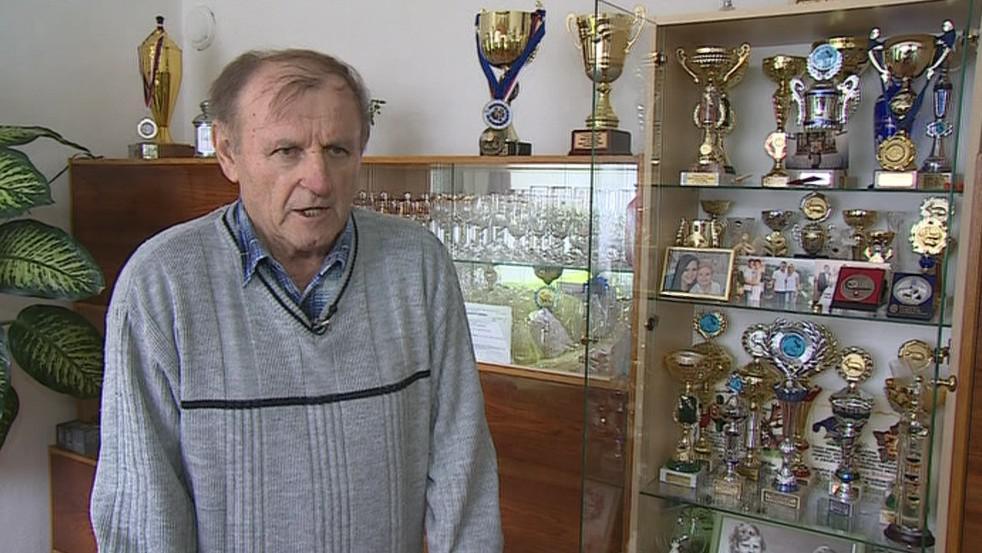 Úspěšný chovatel Jaroslav Klika
