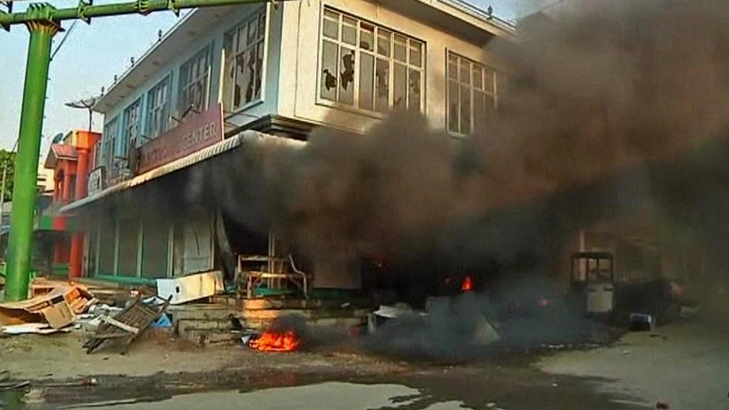 Důsledky střetů mezi buddhisty a muslimy v Barmě