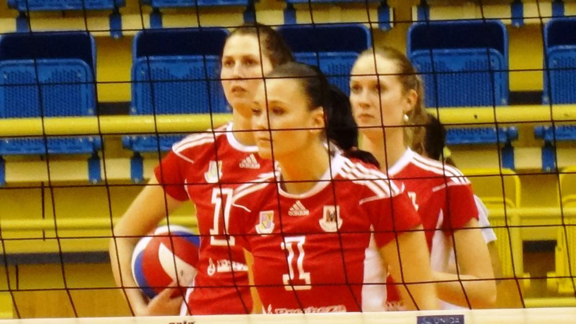 Volejbalistky Přerova