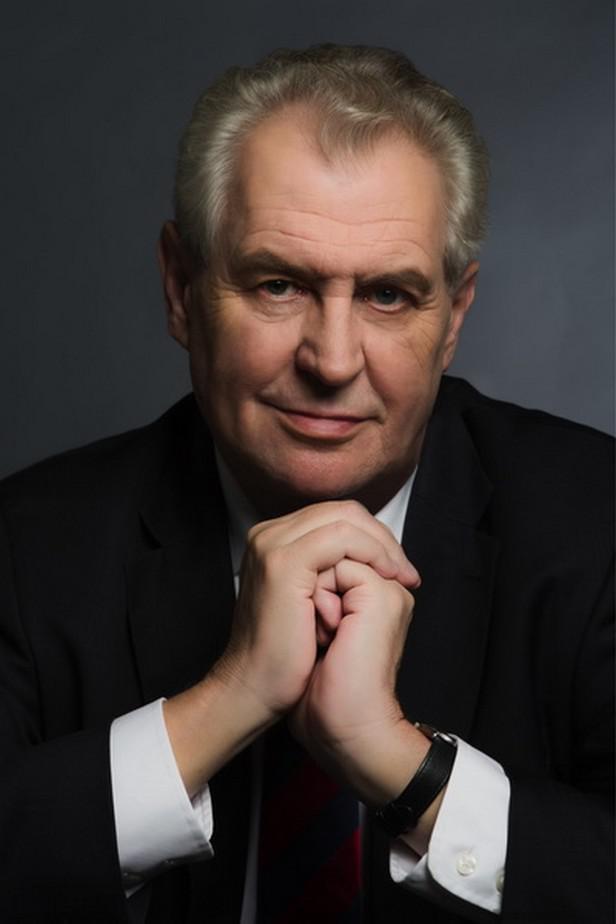 Prezidentský portrét Miloše Zemana