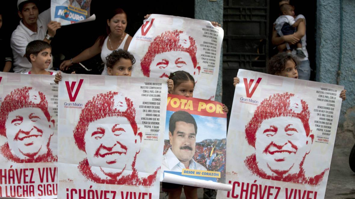 Venezuelská předvolební kampaň