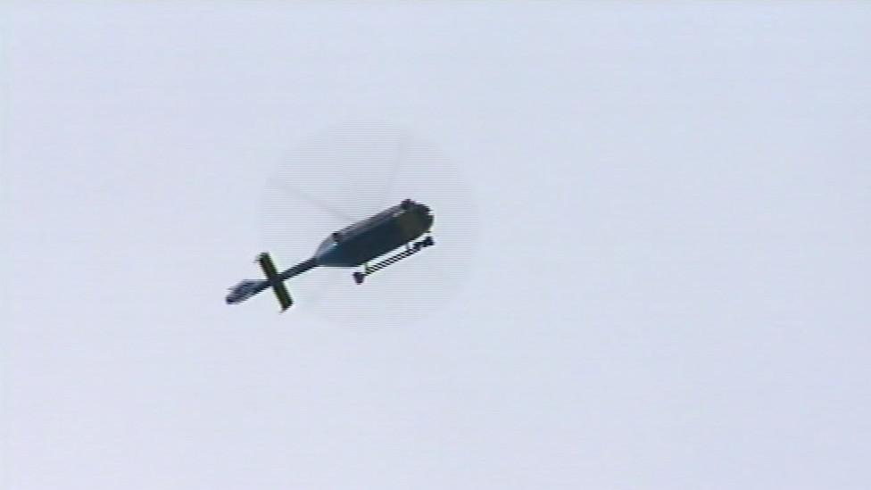 Po dívce pátral i vrtulník s termovizí