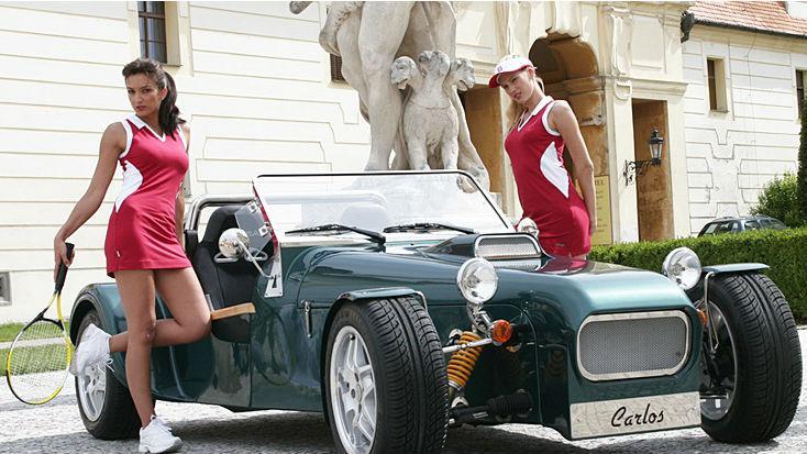 Tvrdonický roadster - model Carlos