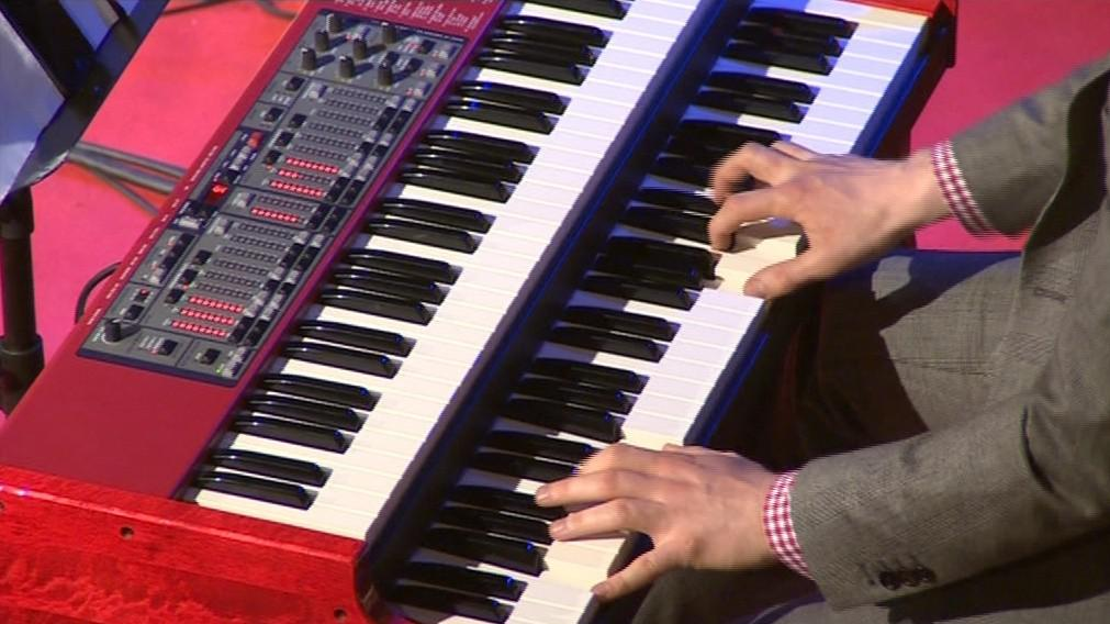 Elektrické Hammondovy varhany