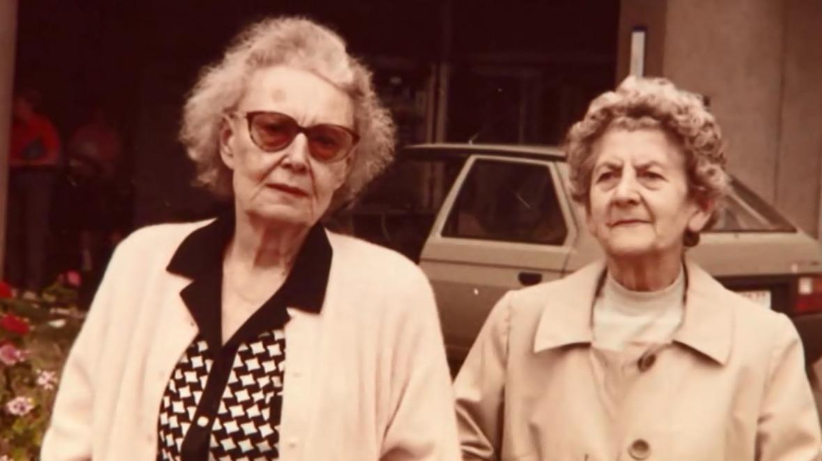 Lída Baarová a Marcela Babková
