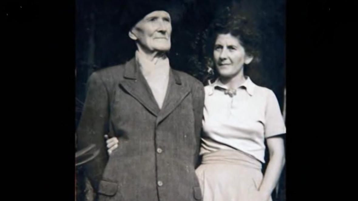 Otec Baarové s Marcelou Babkovou