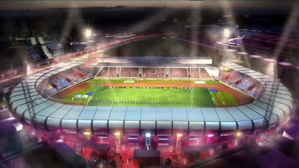 Vizualizace nového stadionu