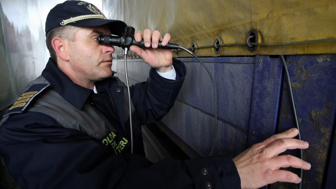 Policejní kontroly na evropských hranicích