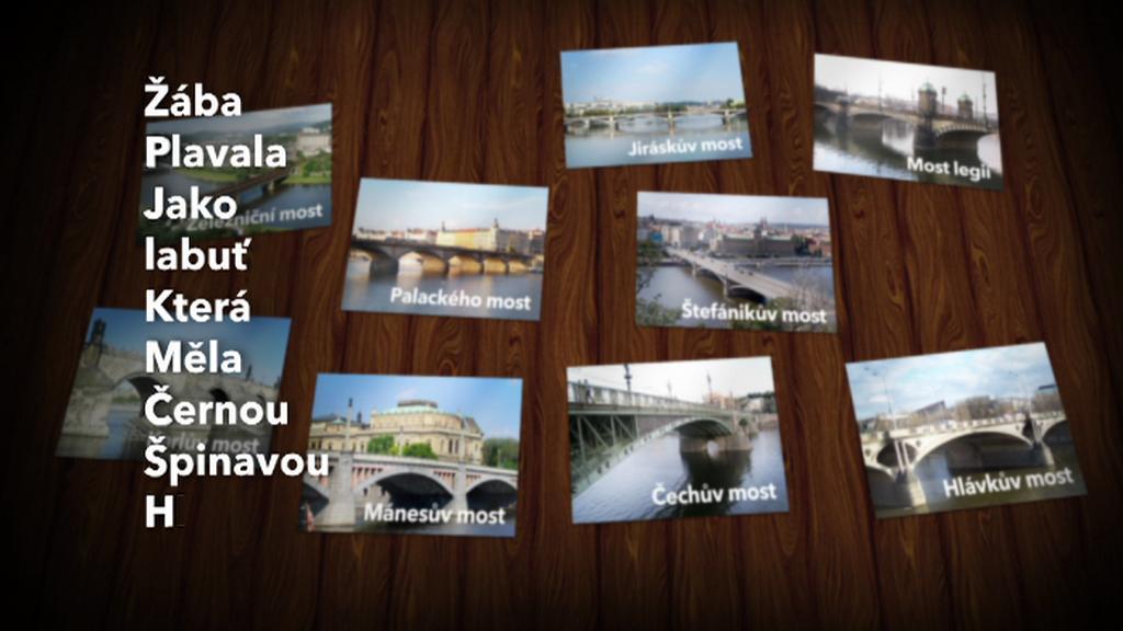 Jak si zapamatovat pražské mosty