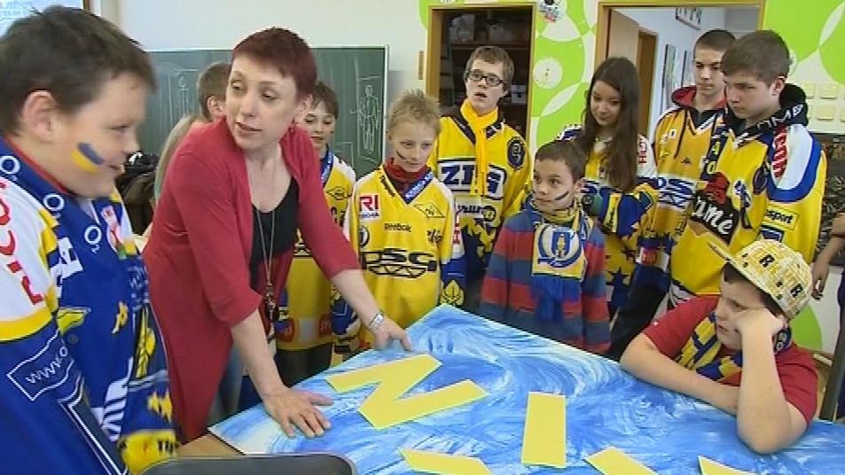 Děti v luhačovické základní škole
