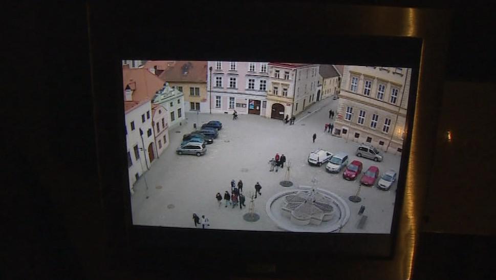 Obrazovky návštěvníkům podzemí prozradí, co se děje nad nimi