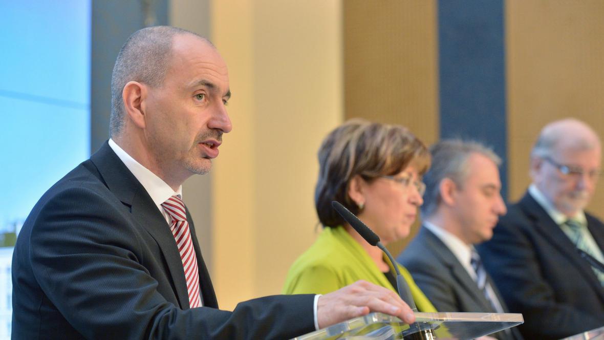 Martin Kuba (ODS) po jednání tripartity